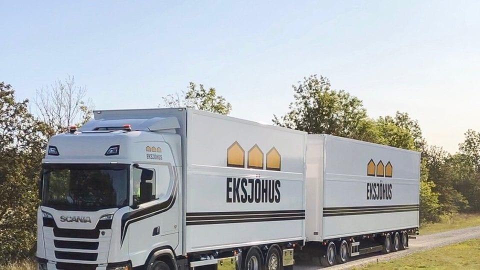 Eksjöhus lastbil