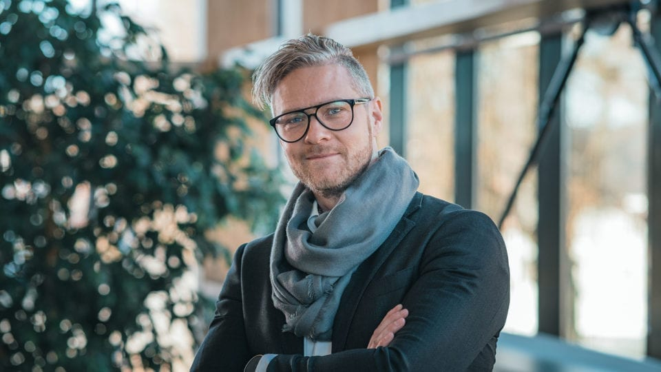 Johan Nycroft, Chefarchitekt bei Eksjöhus, gibt Tipps für den Wintergarten