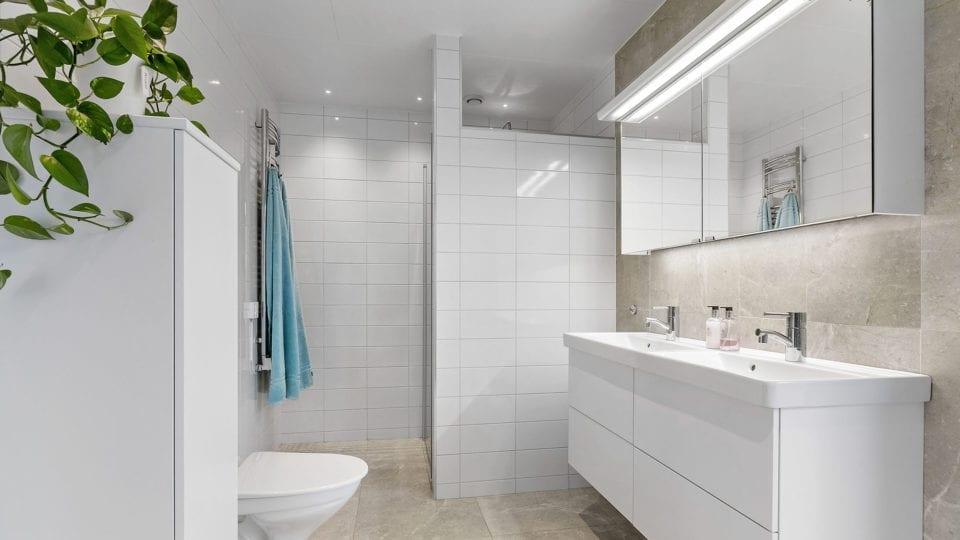 Kundanpassat hus - badrum