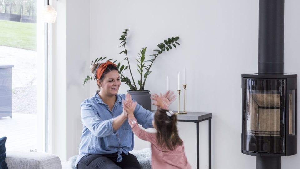 Holmsjö vardagsrum