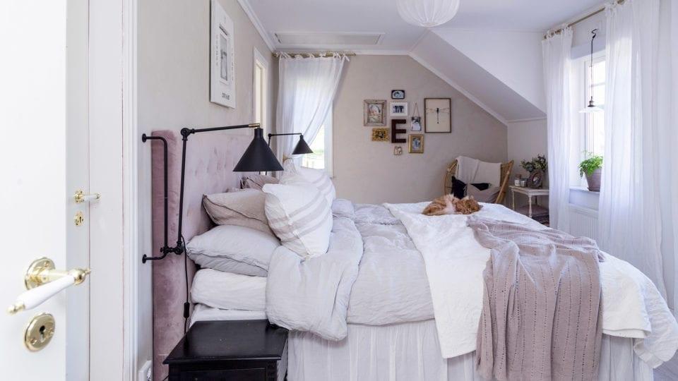Kaptensgården sovrum