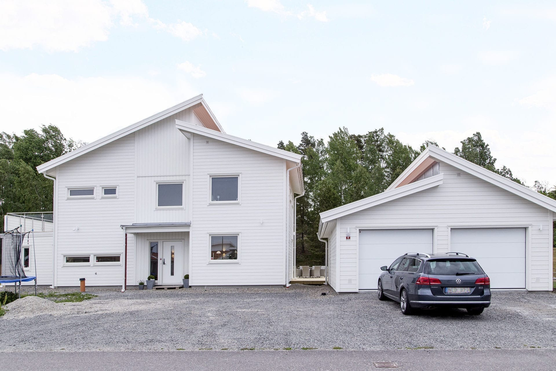 Eksjöhus-Haus Soludden mit separatem Carpark oder Garage